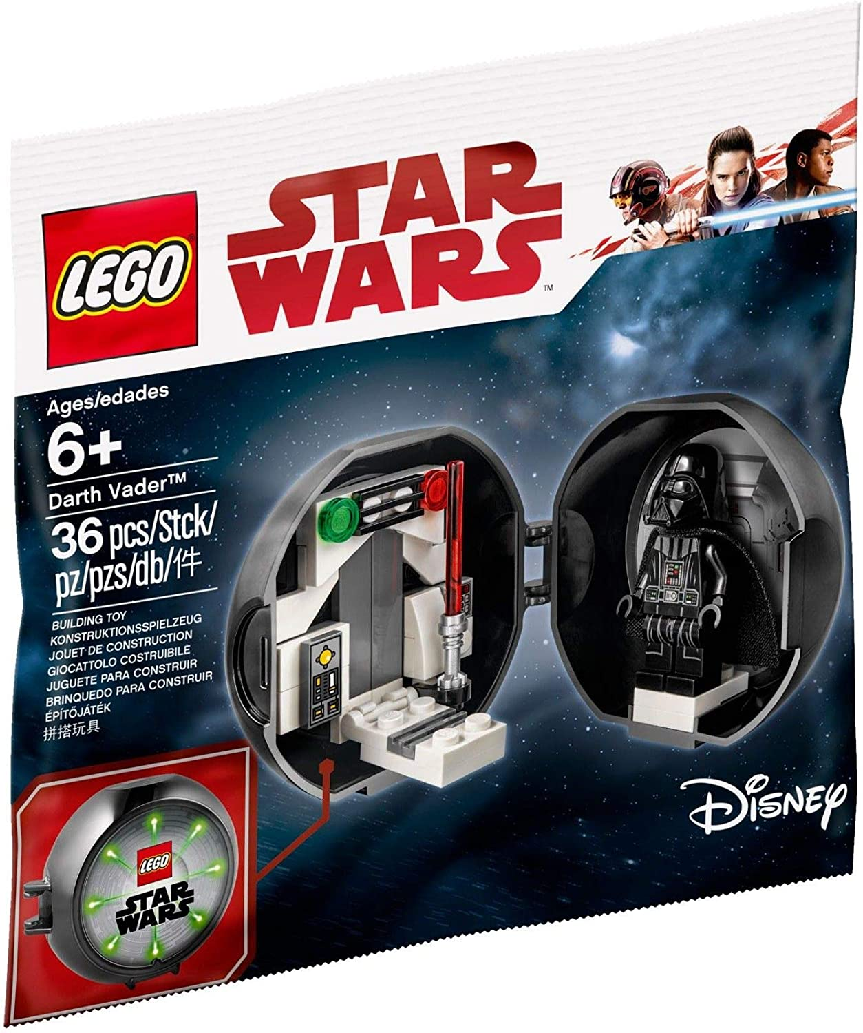 - Amazon.com: Lego Darth Vader Anniversary Pod Polybag 5005376: Toys