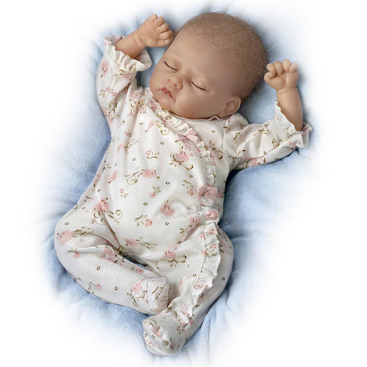 Ashton Drake - Sophia - Muñeca bebé realista - Sonido de respiración ...