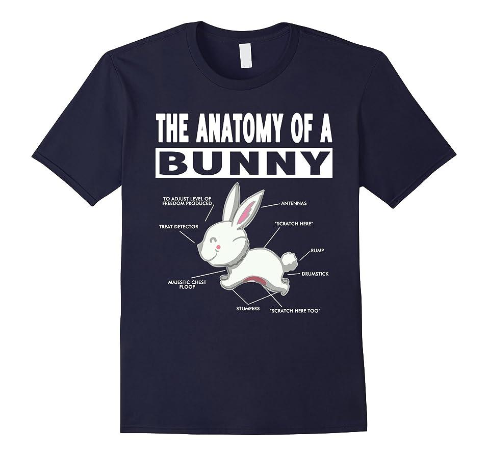 Amazon.com: The anatomy of a bunny T-shirt: Clothing