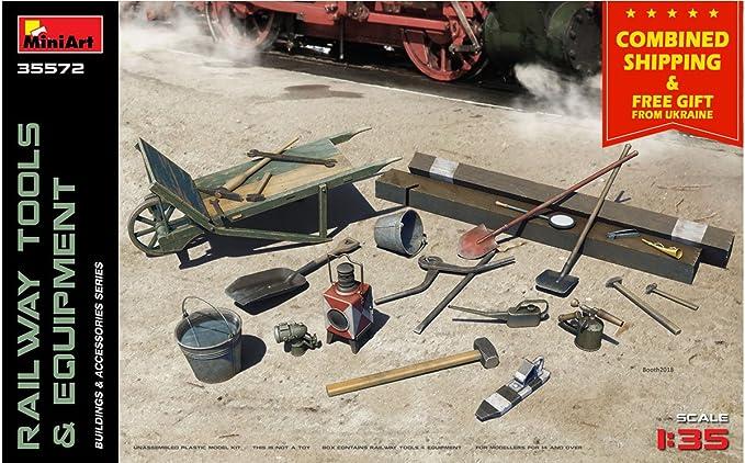 Amazon.com: Miniart 35572 ferrocarril herramientas y equipo ...