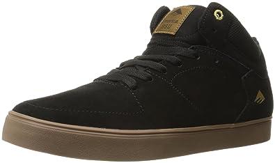 Emerica - Zapatillas de skateboarding para hombre negro negro, color negro, talla 7 UK