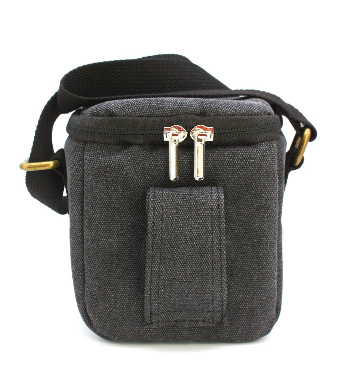 zdMoon Gray Camera case bag Canvas for Sony A5000 A5100 A6000 NEX-5T 5R NEX-7 NEX-6