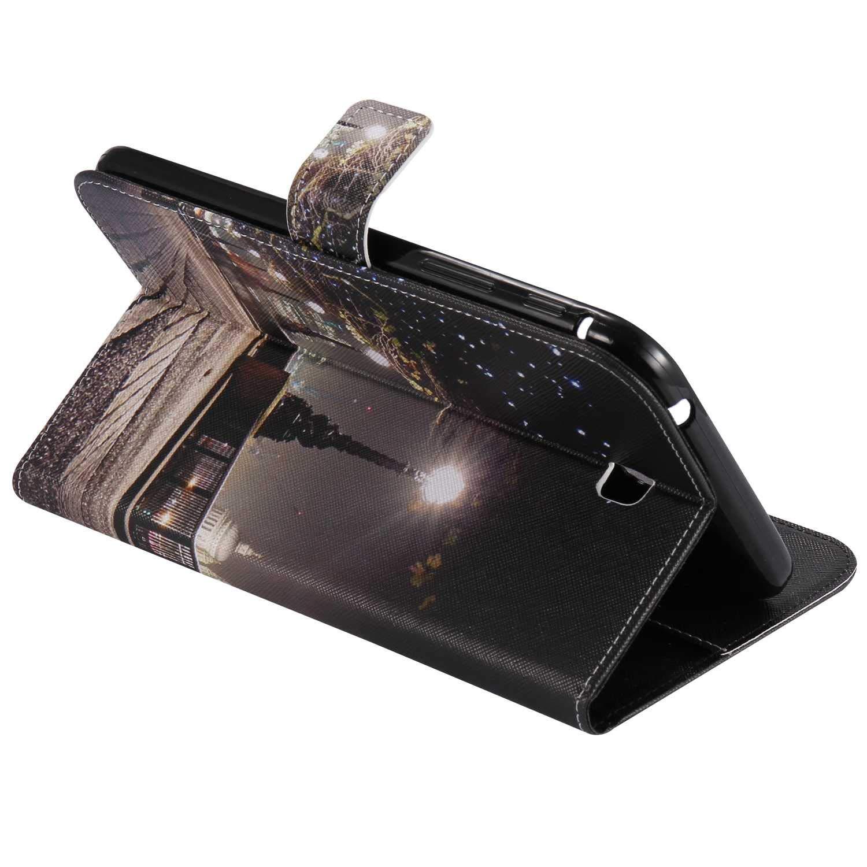 Multiwinkel St/änder Funktion Schutzh/ülle f/ür Samsung Galaxy Tab 3 P3200 Leopard Bear Village/® Galaxy Tab 3 P3200 H/ülle Ultra D/ünnes Smart Ledertasche