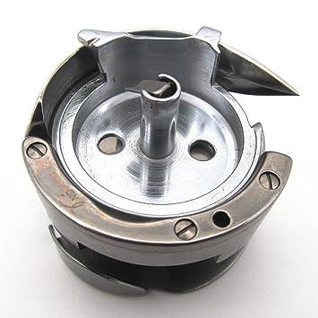 KUNPENG - 1 piezas gancho giratorio # 91-018340-91 AJUSTE PARA Máquina de coser Pfaff 545 541 546 555 Foot Foot: Amazon.es: Hogar