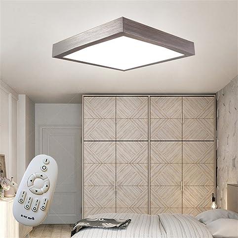 16W LED Dimmbar Modern Deckenlampe Deckenleuchte Schlafzimmer Küche Flur Wohnzimmer  Lampe Wandleuchte Energie Sparen Licht Silber