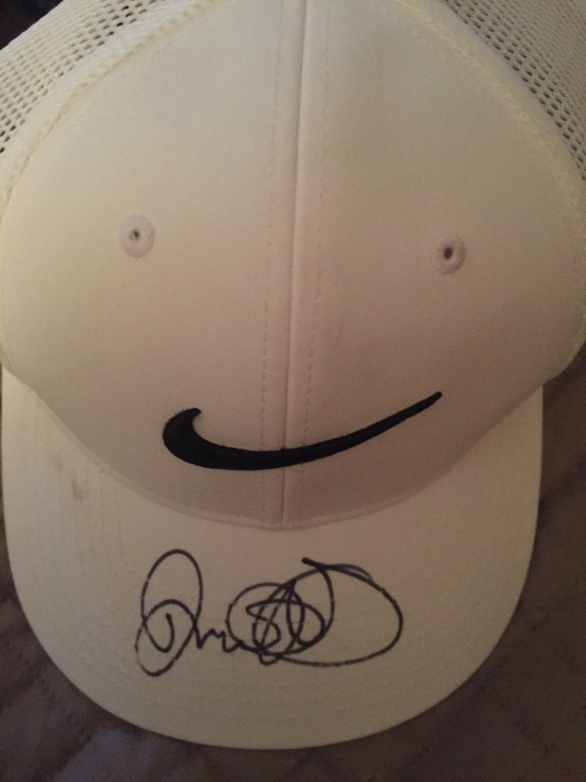 Rory McIlroy Autograph Signed Nike Golf Hat JSA Certified Autographed Golf Hats and Visors