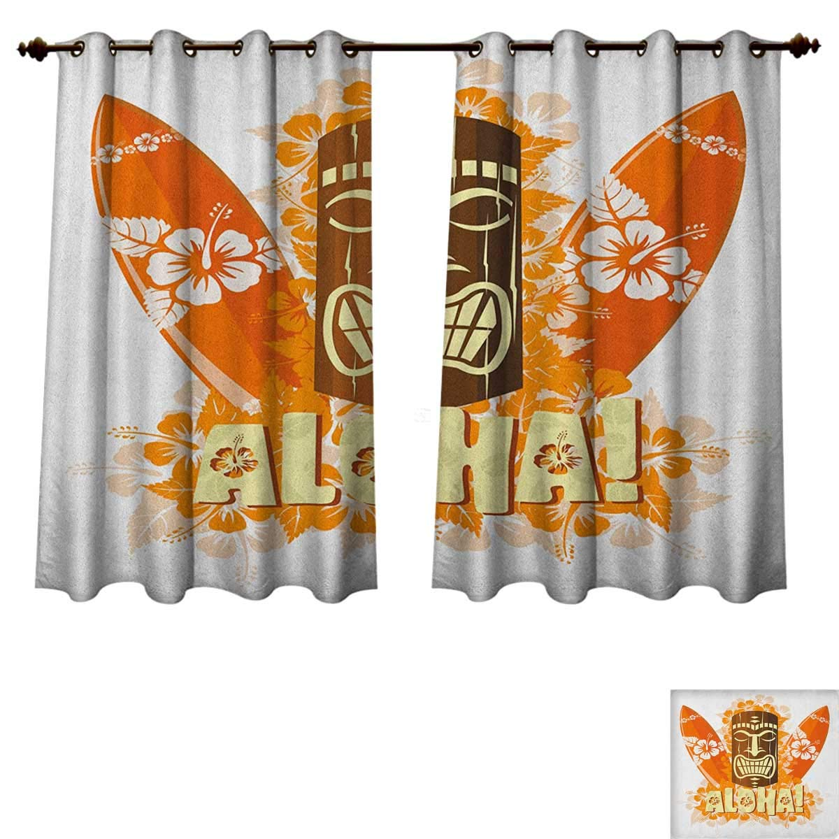 Orange Curtains For Living Room Excellent For Summer Season