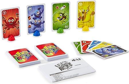 Juegos Mattel - Uno Colores al Poder: Amazon.es: Juguetes y juegos