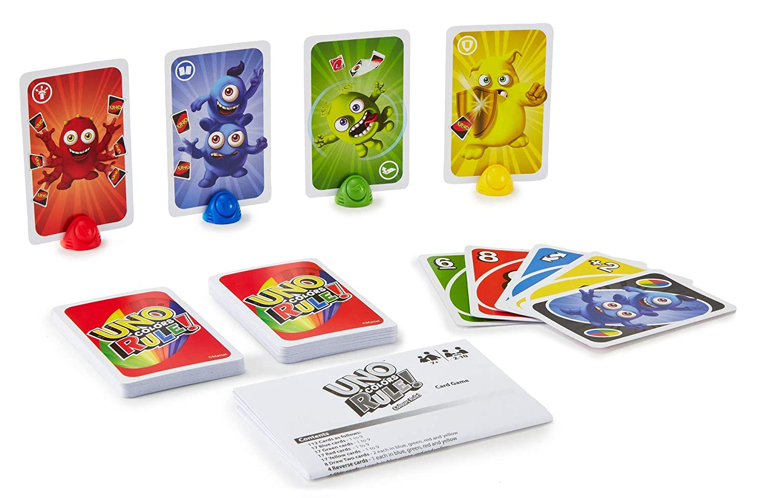 Mattel Games UNO Colors Rule Card Game