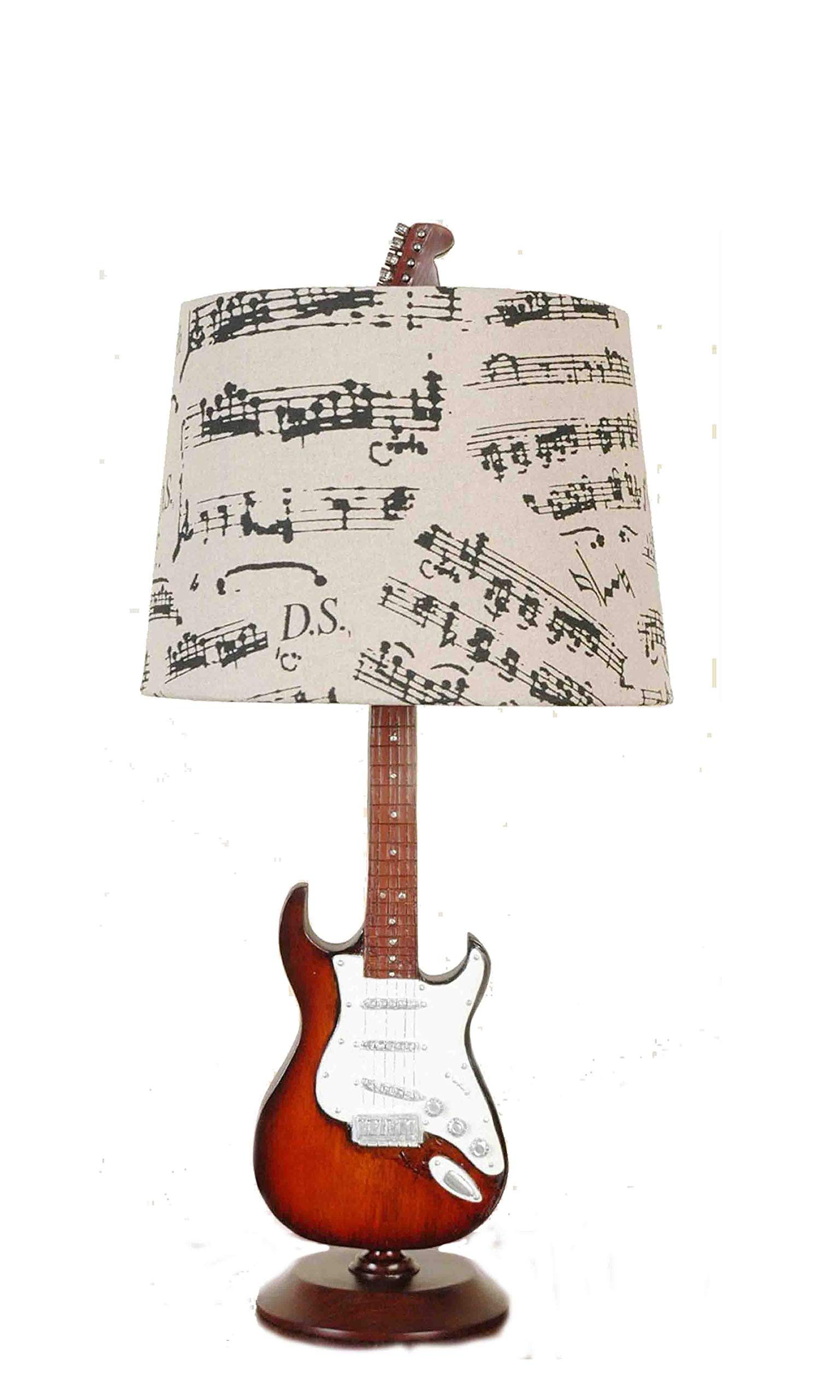 Creative Motion Guitar Desk Lamp, 24.5-Inch by Creative Motion