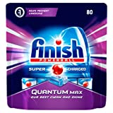 Finish Quantum Max Dishwasher Tablets,  Original, 1 x 80 (80 Tablets)