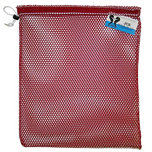 JCS Nylon Mesh Drawstring Bag, Small, Approx. Approx. 15inch