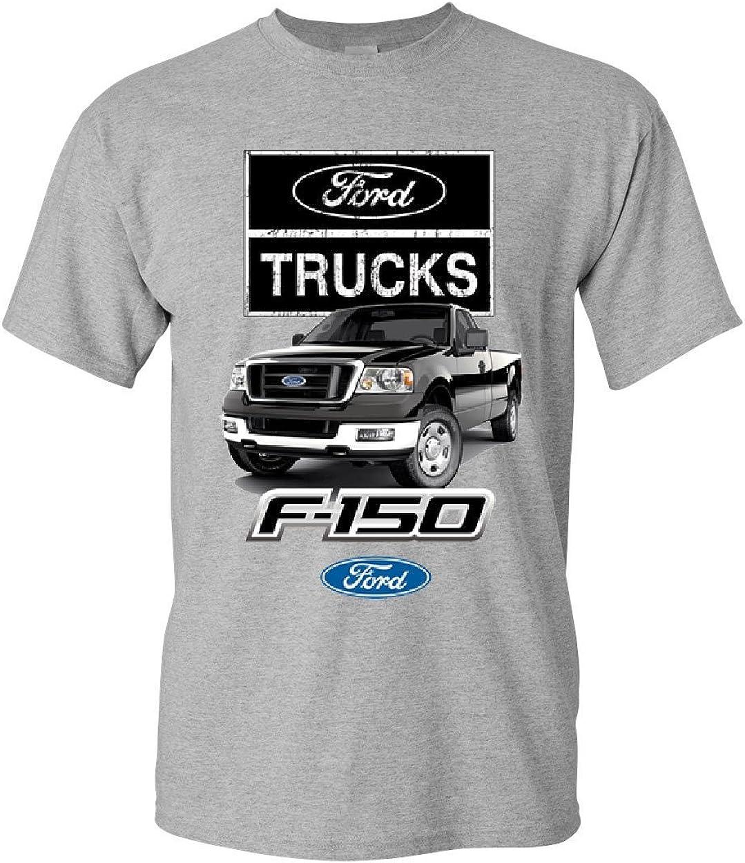 Ford Pickup Trucks F-150 T-Shirt Offroad Country Built Tough 4X4 Mens Tee Shirt