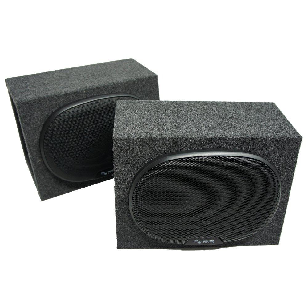 Universal Car Truck SUV Harmony Audio R69 Dual 6x9 Speaker Box Enclosures New