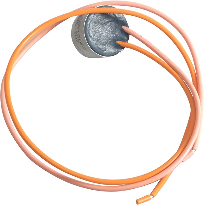 Siwdoy WR51X10055 Defrost Heater WR55X10025 Temperature Sensor and WR50X10068 Defrost Thermostat Compatible with General Electric Hotpoint Refrigerators Replaces WR51X10030 AP3183311