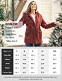 SoTeer Womens Faux Fur Lined Parkas Warm Long