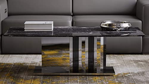 Deal of the week: Zuri Nero Black and White Marble Coffee Table