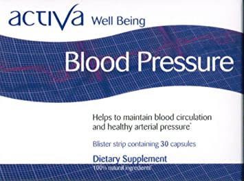 Amazon.com: Activa Well Being Blood Pressure: Health ...