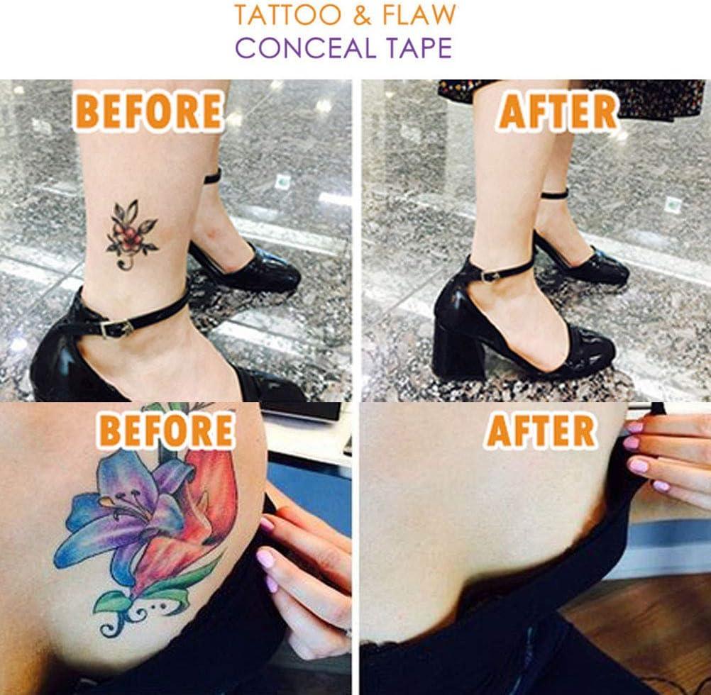 WINBST Cinta de ocultación de Defectos del Tatuaje Corrector ...