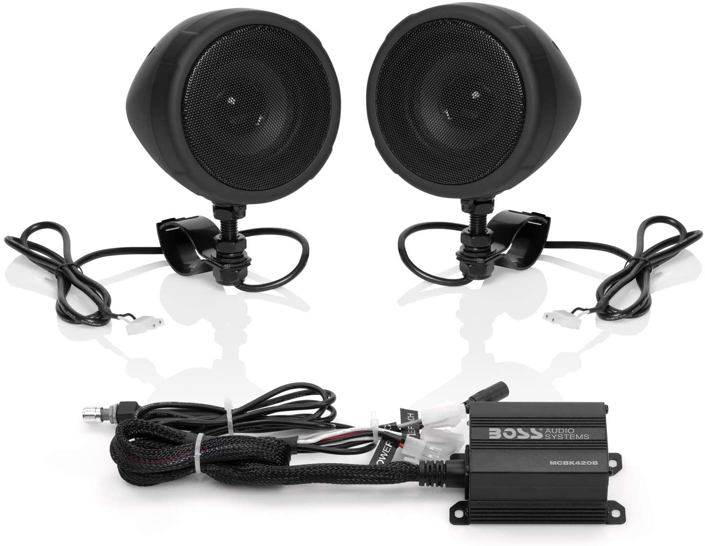 Boss Audio Systems MCBK420B Motorcycle Bluetooth Speaker System