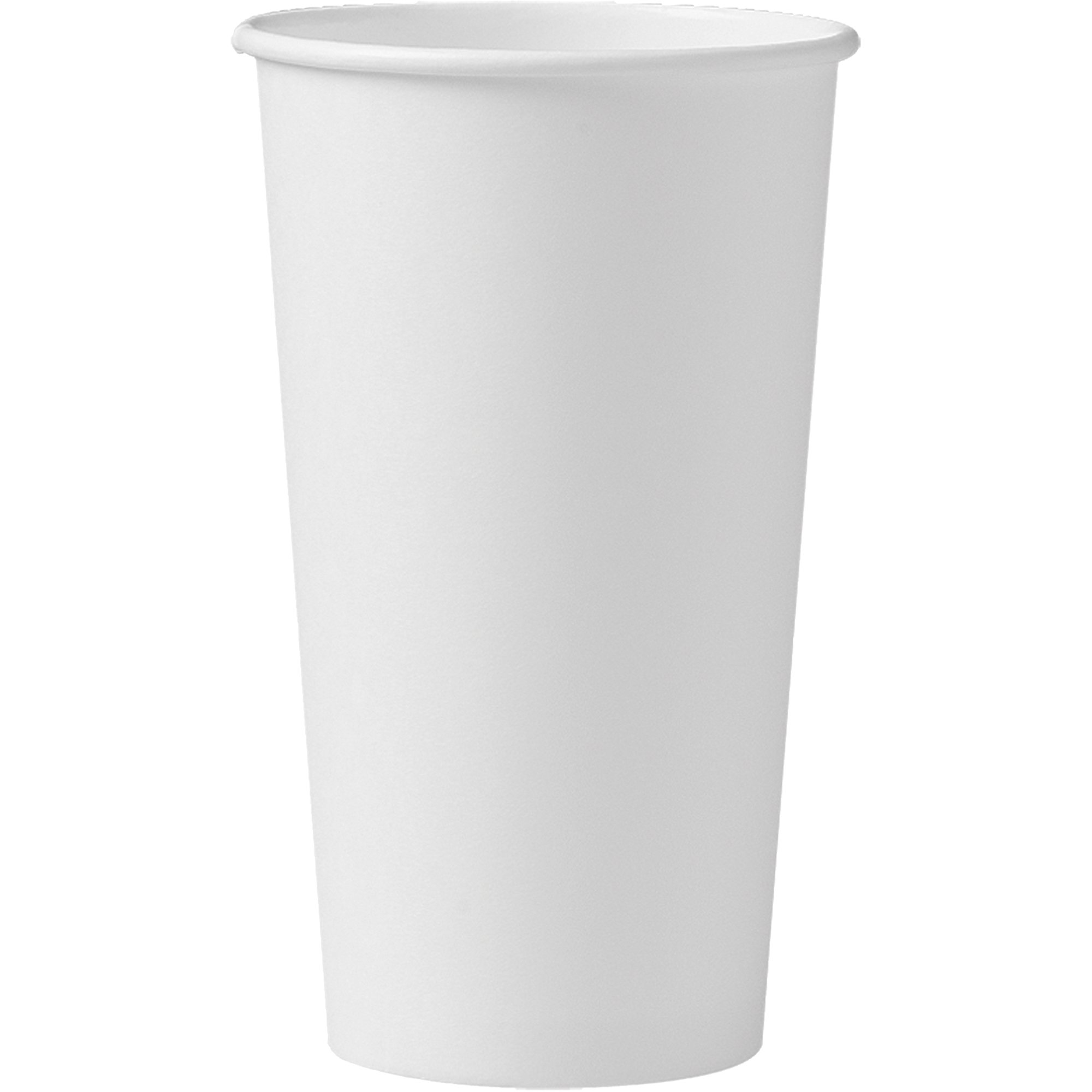 Solo 420W-2050 20 oz White SSP Paper Hot Cup (Case of 600)