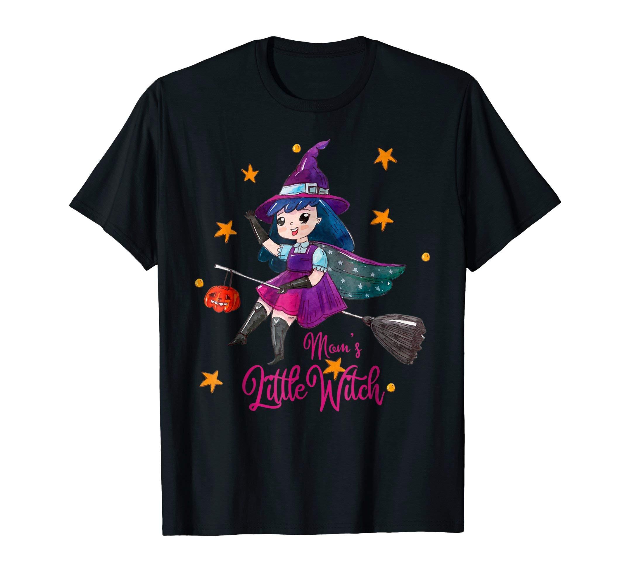 Mom-s-Little-Witch-Halloween-T-Shirt-Tee-Gifts-Shirt