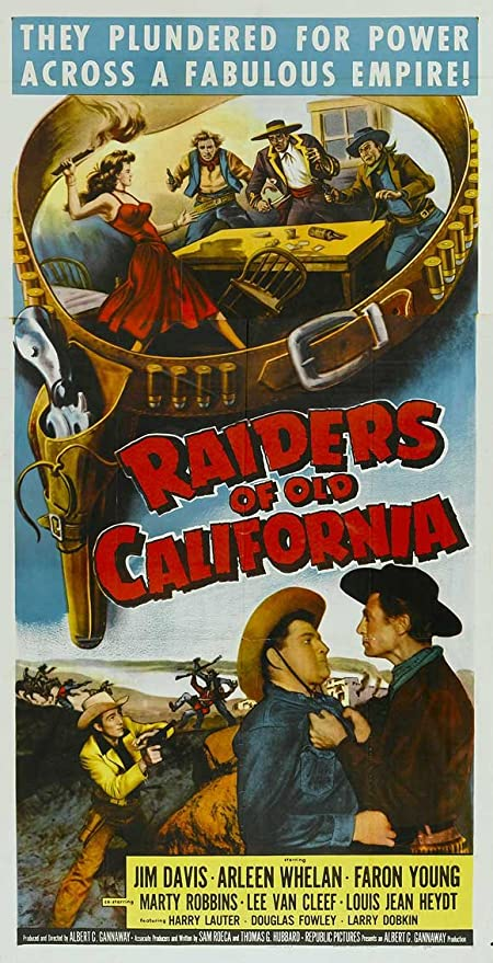 Raiders of antigua California Póster de película B 11 x 17 ...