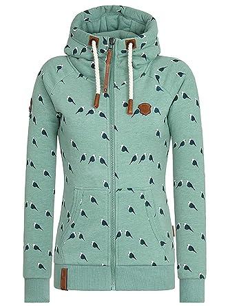 Sweater Hooded Zip Women Naketano Brazzo Doofmann Zip Hoodie