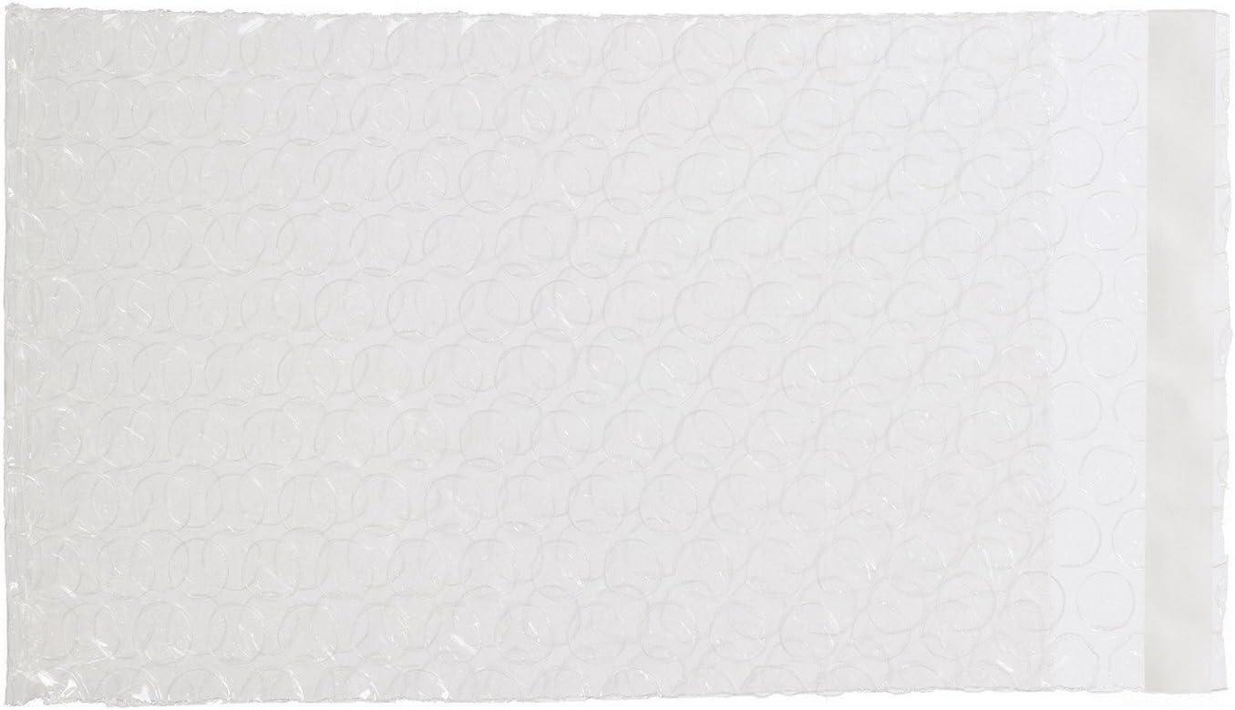 XSY Burbuja Bolsas Cierre Autoadhesivo Bolso de Burbujas para Embalar Producto 90 x 190+25mm - 250 Unidades