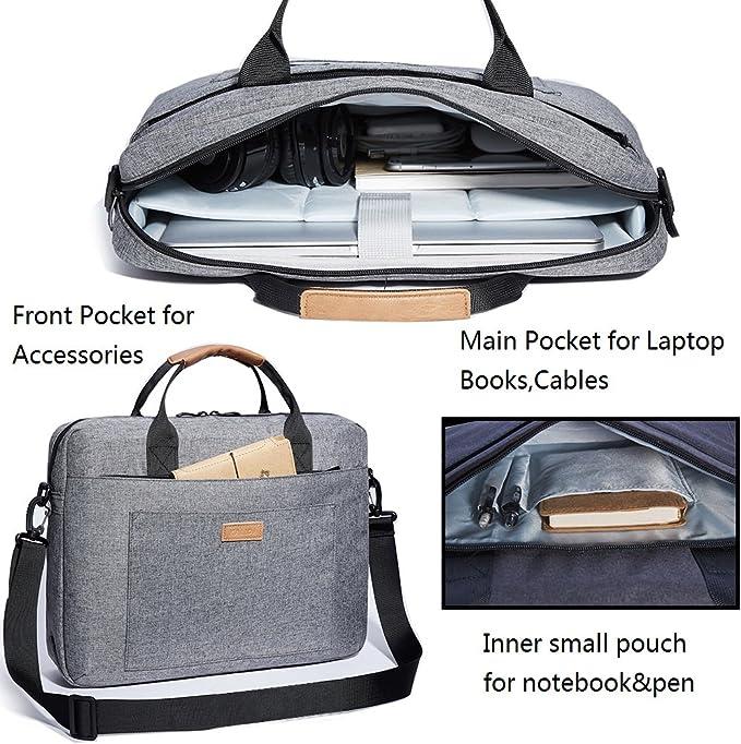 Kalidi Laptoptasche Mit Tragegriffen Und Umhängegurt Computer Zubehör