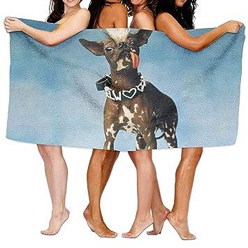 Fedso Toalla de baño de Microfibra Ultra Absorbente para Perros y bebés, Ideal para Picnic o para Hombres y Mujeres: Amazon.es: Hogar