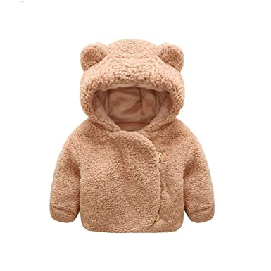 20c4b3ec9 Amazon.com  Beautymade Baby Jacket Winter Infant Girls Warm ...