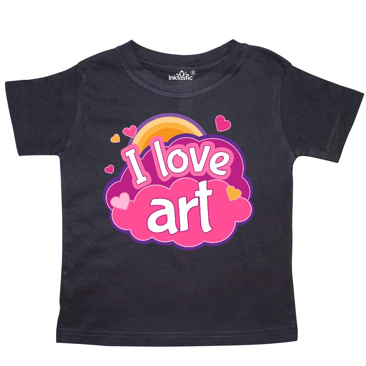 inktastic Artist I Love Art Toddler T-Shirt
