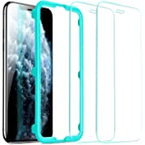 ESR Screen Protector for iPhone 11 Pro Max/iPhone Xs Max [2 Pack] [Easy Installation Frame] [Case Friendly], Premium Tempered