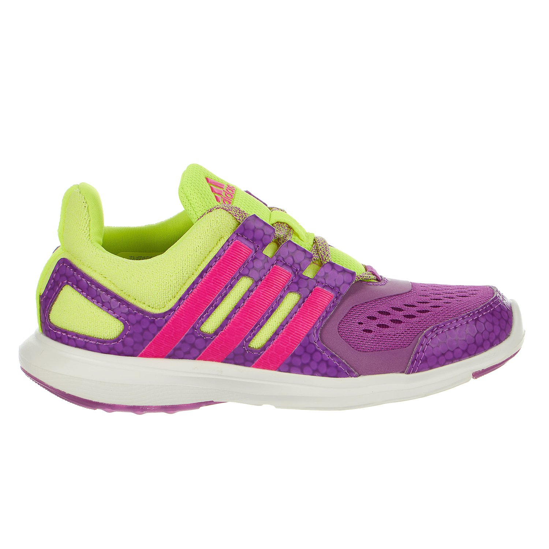competitive price d426b fc94d Galleon - Adidas Girls  Hyperfast 2.0 K Running Shoe Purple Shock ...