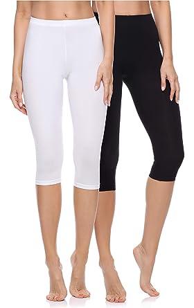 stili diversi famoso marchio di stilisti accaparramento come merce rara Merry Style Leggings 3/4 Pantaloni Capri Donna: Amazon.it ...