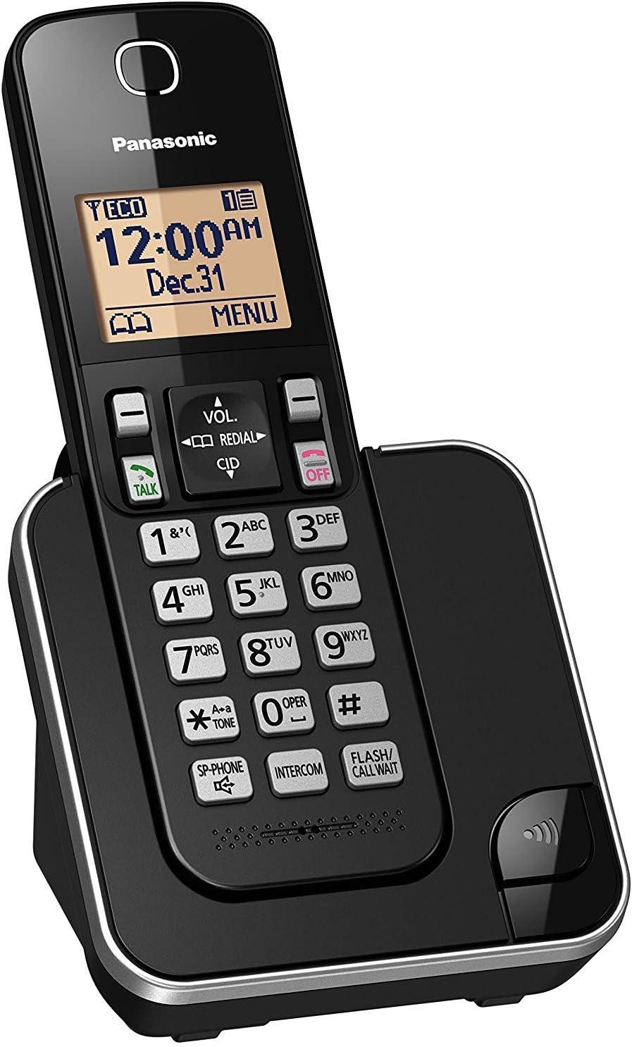 Panasonic KX-TGC363B / KX-TG633SK Dect 6.0 3 Teléfono Fijo de teléfono (reacondicionado Certificado) (KX-TGC362B +1): Amazon.es: Electrónica
