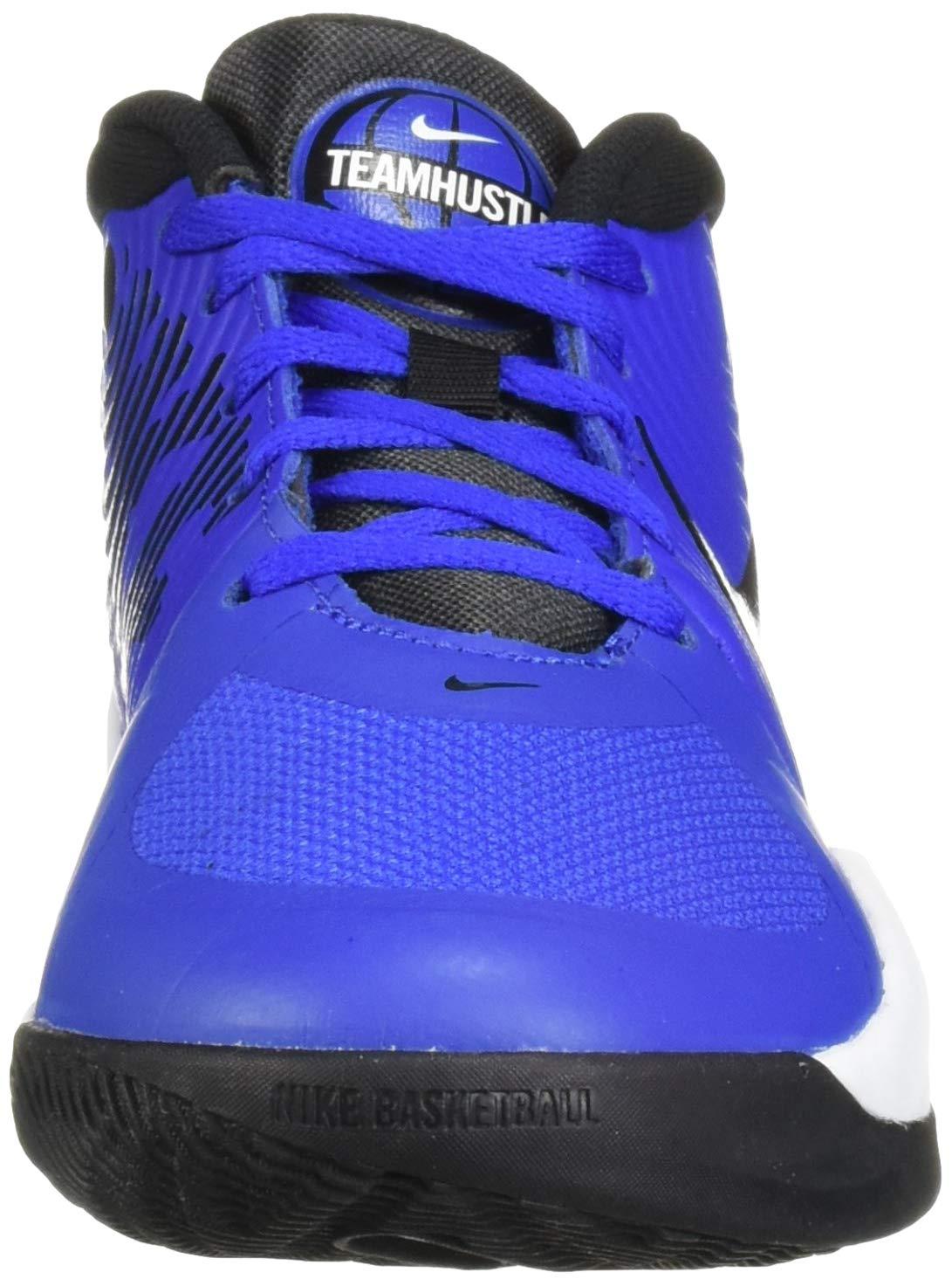 Nike Unisex Team Hustle D 9 (GS) Sneaker, Game Royal/Black - White, 5Y Regular US Big Kid by Nike (Image #4)
