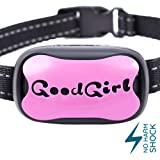GoodBoy Dog Bark Collar for Small Medium and Large Dogs Pet Anti Bark Device with 7 Level Sound and Shock System to Control or Stop Your Pups' Excessive Barking (12 + lbs)
