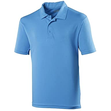 c178fa575176 Just Cool Herren Polo-Shirt Sports XXL,Saphirblau  Amazon.de  Bekleidung