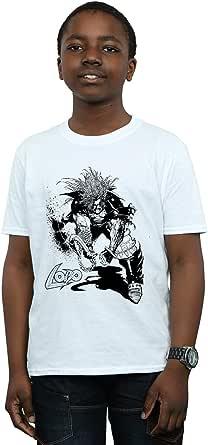 DC Comics Niños Lobo Sketch Camiseta