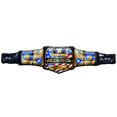 AlphaToys WWE Massive Belt Banners - Airnormous WWE United States Championship Title: Toys & Games