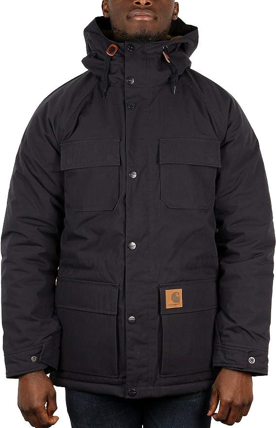 Carhartt WIP Mentley veste d'hiver dark navy:
