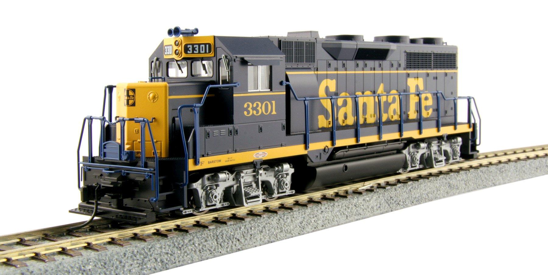Kato USA Model Train Products HO EMD GP35 Phase Ia - AT&SF ''Dress Blue'' #3301