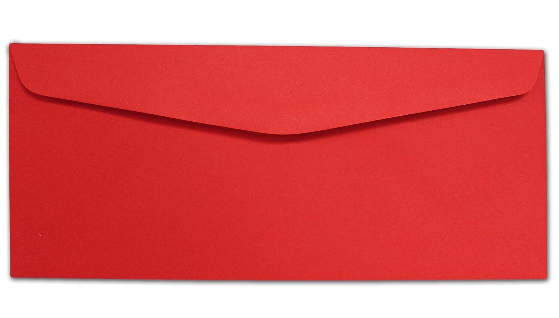 Red #10 Envelopes - 100 Envelopes Desktop Publishing Supplies Inc. 57027-100