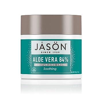Kendte Amazon.com : Jason Soothing Aloe Vera 84% Moisturizing Creme 4 oz LZ-65