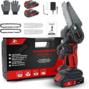 """Mini Chainsaw Cordless 