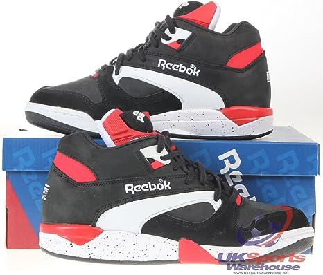 Reebok Cancha Victory Zapatos Retro Tennis / Zapatillas De Baloncesto Zapatillas - 27.5 EU: Amazon.es: Deportes y aire libre