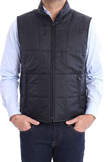 online store f06b4 c5cf4 GILET FAY NERO IN NYLON, Uomo, Taglia 46.: Amazon.it ...