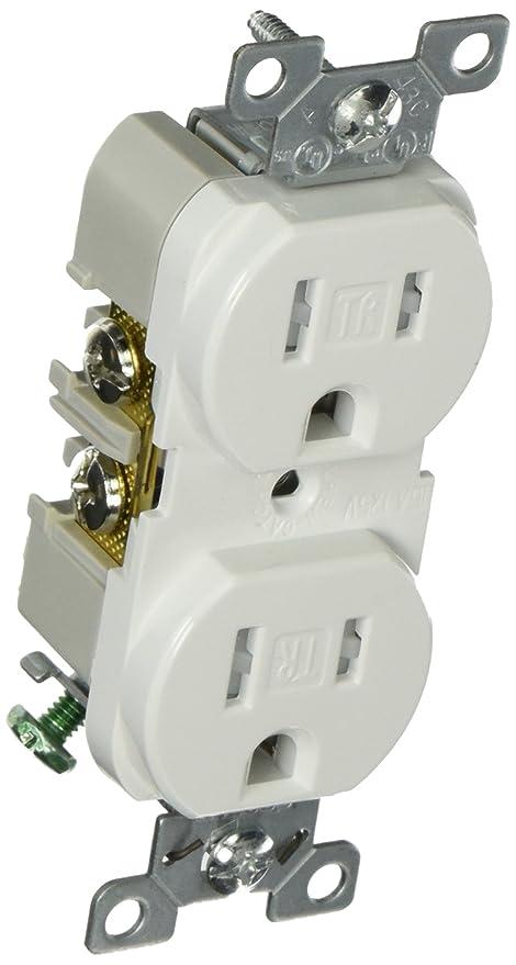Eaton TRBR15W-BXSP 15-Amp 3-Wire 125-Volt Tamper Resistant ...